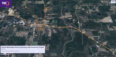 Central MS Rural Community Fiber Reconnect Project