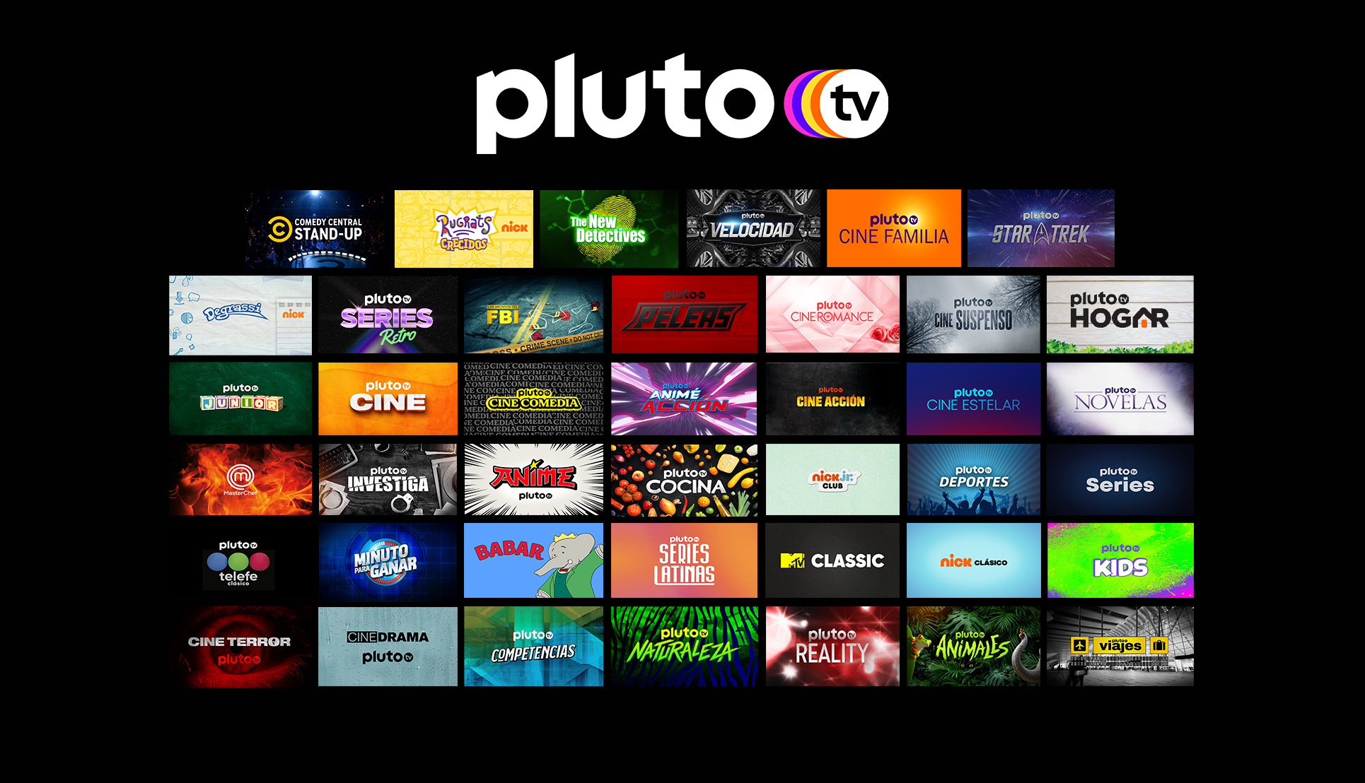 Streaming-Blog-Pluto-TV-Logo-Above-Several-Images-Showcasing-Shows-on-the-Service.jpg