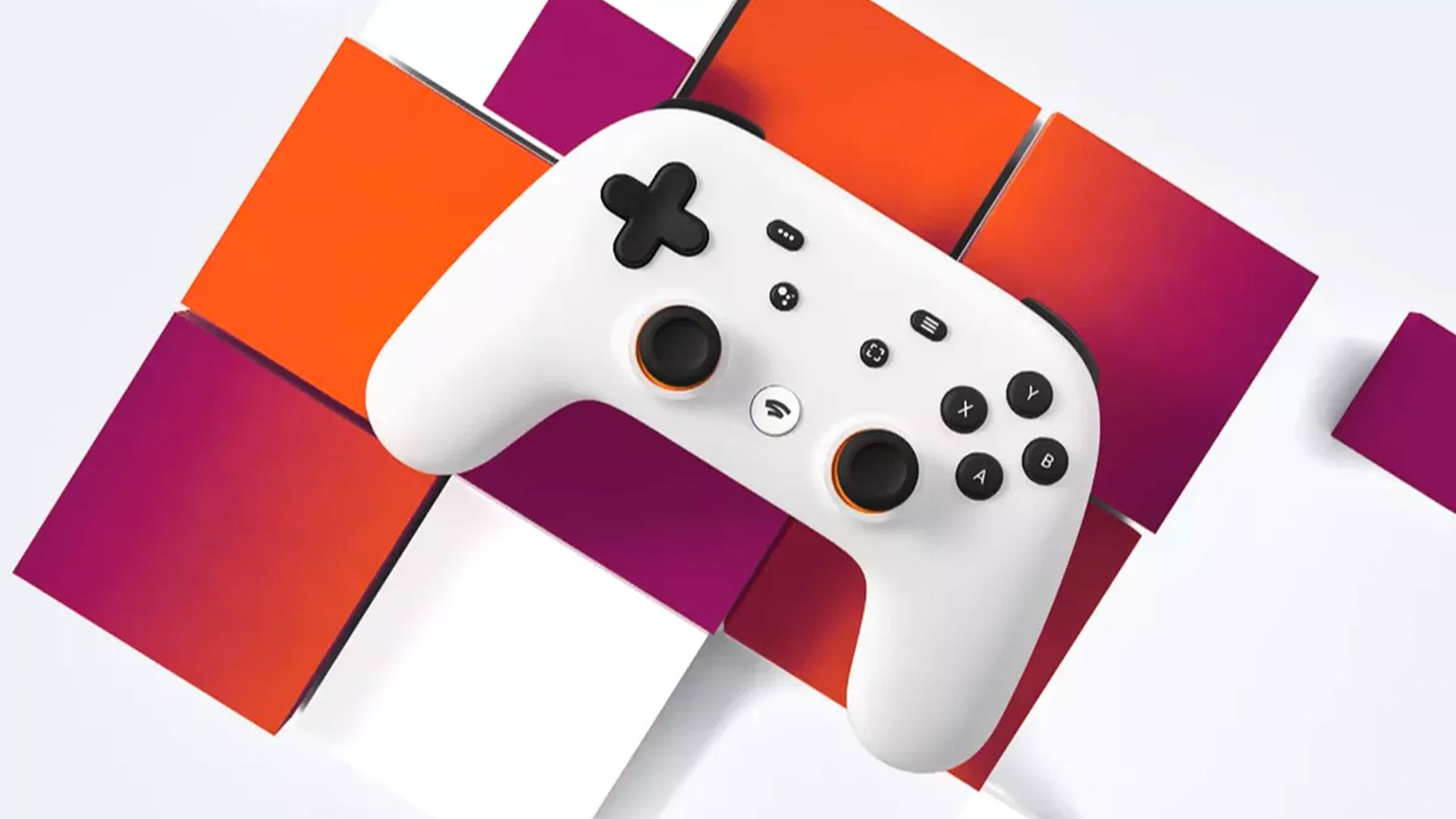 Tech-Gift-Guide-Google-Stadia-controller-in-front-of-multicolored-geometric-background.jpg