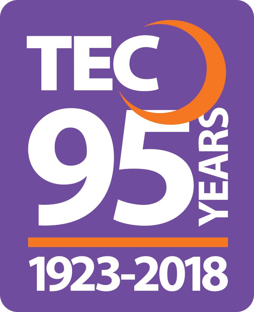 TEC 95th Anniversary logo